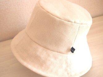 カジュアル帽子(わたあめ)の画像