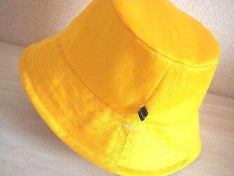 カジュアル帽子(ひまわり)の画像