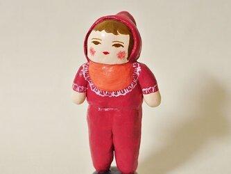 赤ちゃん人形(赤いべべ)の画像