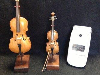 ミニチュア楽器の画像