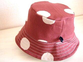 カジュアル帽子(水飴)の画像