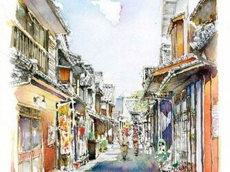 大崎下島御手洗地区・常盤通りの画像