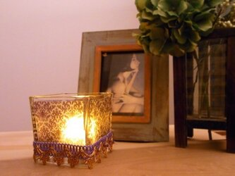キャンドルグラス パープル-L sizeの画像