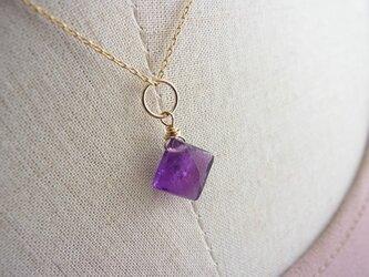 Amethyst*diamond*14kgfの画像