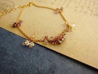 紫陽花ブレスレットの画像