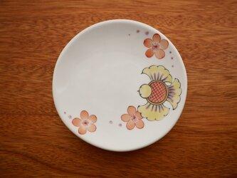 ふくらすずめ子 ちいさいお皿の画像
