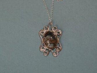 No49 ルチルクォーツのネックレスの画像