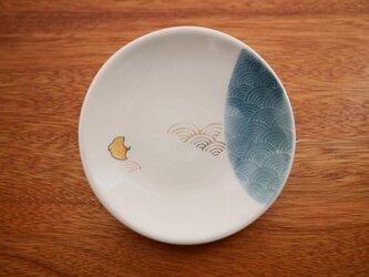 青海波千鳥 ちいさいお皿の画像
