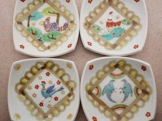 cocco 四角の小皿の画像