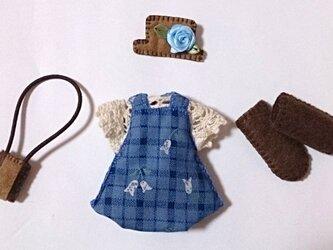 フェルト人形用の着せ替え服NO.20の画像