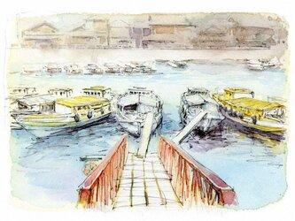大崎下島豊町の農船の画像