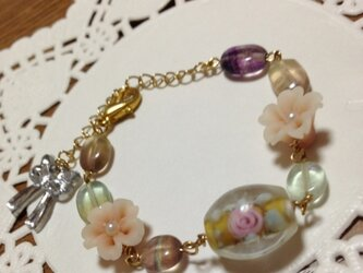 Mu_060★桜ブレスレット・遅咲き桜02の画像