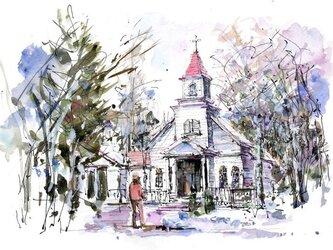 冬の軽井沢の画像