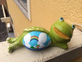 K様専用 なまけ蛙くんSunnyの画像
