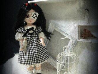 ギンガムチェックドレスの画像