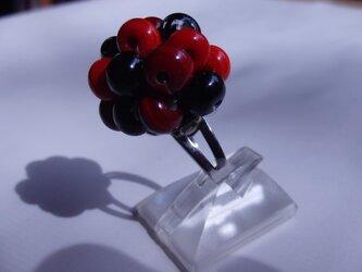 ガラスのリング(フルーツ)の画像