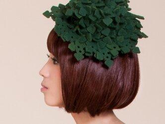 葉っぱブロックミニハットの画像