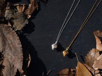 オニオンゴールドカラーネックレスの画像