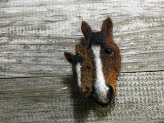 """子馬のブローチ """"ぼくのお母さんを紹介します""""の画像"""