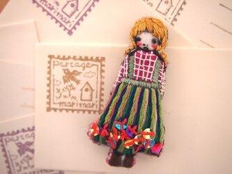 Nana(ナナ)刺繍ブローチの画像