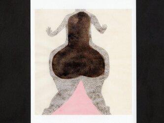 選べる2枚セットポストカード「俯きの身体」の画像