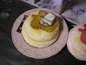 パンケーキのポーチ プレーンの画像
