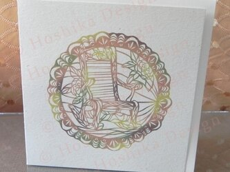 ロッキングチェア,椅子シリーズ,6枚セットの画像