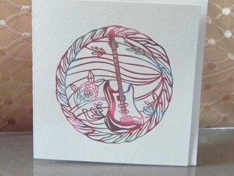 ギター,楽器シリーズ 6枚セットの画像