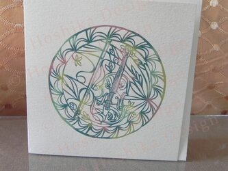 ヴィオラ,楽器シリーズ 6枚セットの画像