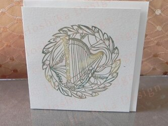 ハープ,楽器シリーズ 6枚セットの画像