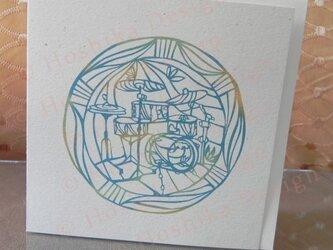 ドラム,楽器シリーズ 6枚セットの画像