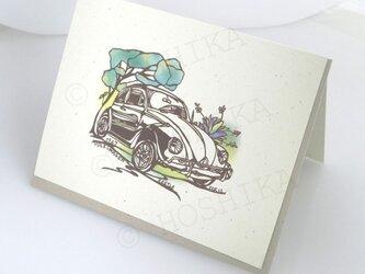1967年 VW Beetle カード 6枚セットの画像