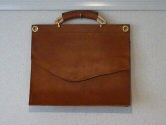 手縫い鞄の画像