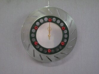 バイクロータリーブレーキ時計の画像