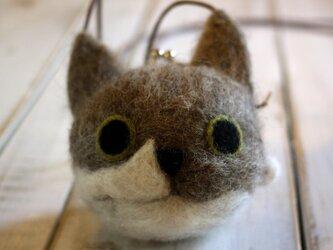 猫神,ミャミコ様のがま口ポシェット♪ペットのオーダーがまぐちの画像