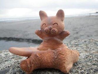 波乗り猫③の画像