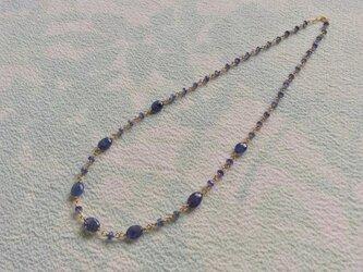 a 1315 タンザナイトのネックレスの画像
