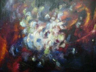 絵画 インテリア キャンバス画 油絵 cosmos 星の誕生の画像