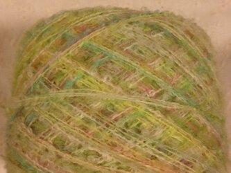 引き揃え糸 キミドリループ 80gの画像
