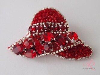 Le chapeau(シャポー)赤の画像