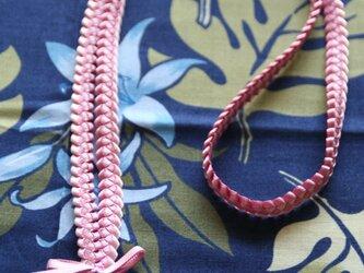 ネックストラップ ハワイアンリボンレイの画像