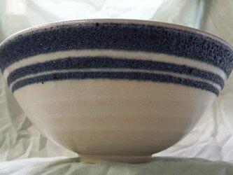 中鉢(3本帯 径20.2X高8.5cm)の画像