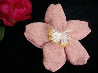 ちりめん細工「桜袋」の画像