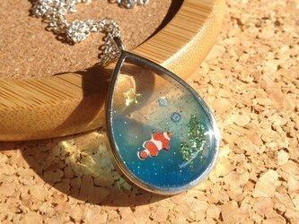 熱帯魚ネックレスの画像
