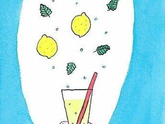 檸檬ミントソーダの画像