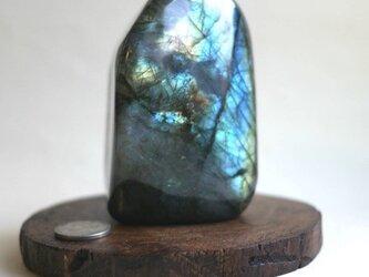 ラブラドライト原石 163の画像