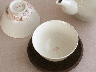 色絵金彩煎茶 桜(花びら)の画像