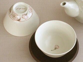色絵金彩煎茶 桜(つぼみ)の画像