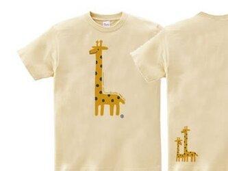 giraffe☆キリン Tシャツ【受注生産品】の画像