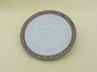 象嵌の尺皿 の画像